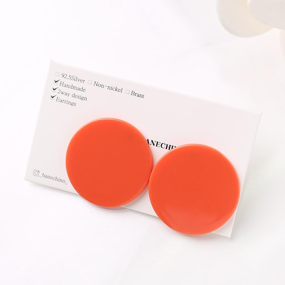 28mm 레드문 티탄침 세트형 귀걸이부자재 S-FF-072
